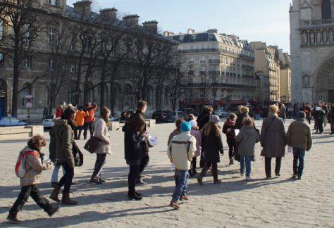 Rallye Enfants Paris au Moyen Age (Ile de la Cité)